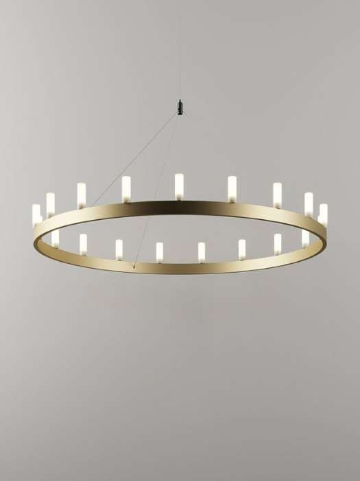 Chandelier_gold_Fontana Arte_Gineico Lighting