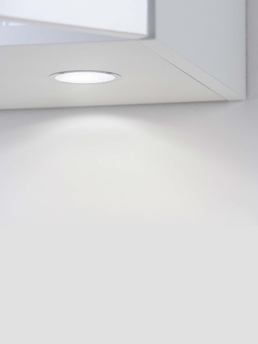 sun led recessed cabinet light_minimal depth_gineico lighting