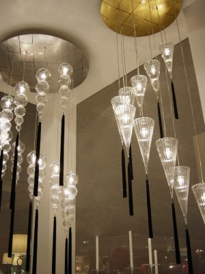 Top Chandelier_melogranoblu_gineico lighting
