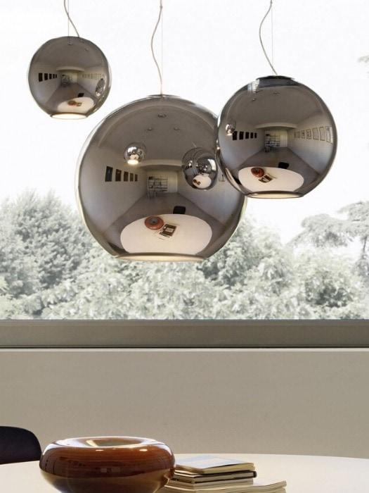 globo do luce_chrome_fontana arte_gineico lighting
