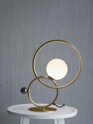 zoe table lamp_burnished brass_venicem_gineico lighting