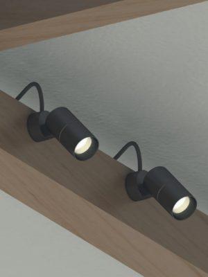 Gineico Lighting - Luciferos - Focus Magnetic w Anchor Plate