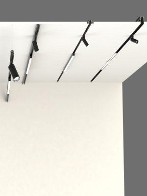 Mini Magnetic Track_Gineico Lighting - Luciferos track light