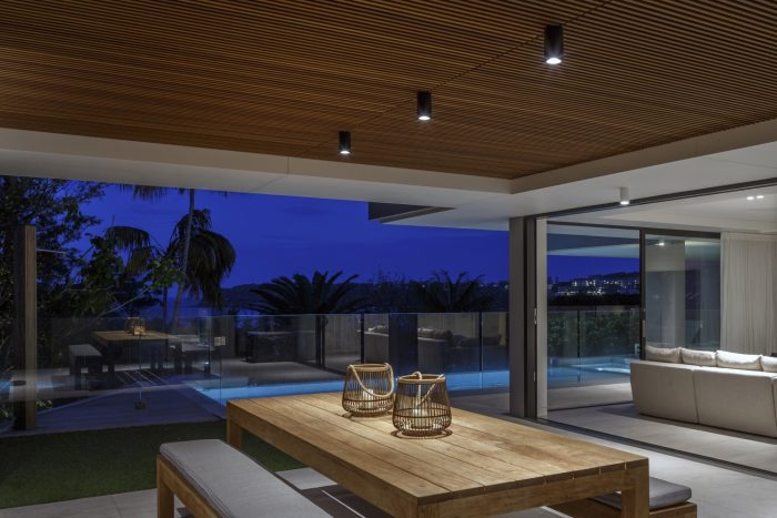 Gineico Lighting i-Pipedi Downlight - Burran Ave By Corben Architects