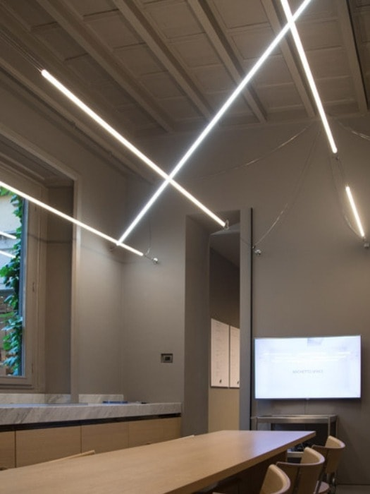 Archetto Space linear light system by Antonangeli from Gineico Lighting