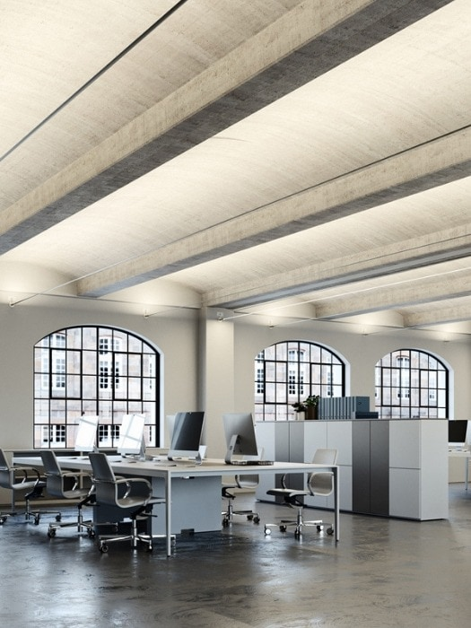 metro_open plan office_fabbian_gineico lighting