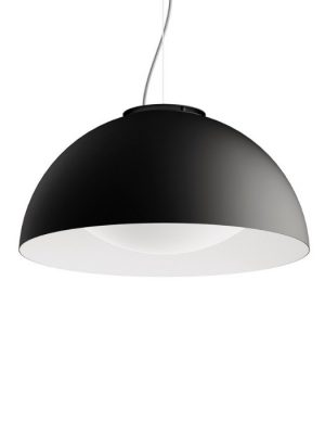 Black pendant dome light_Moon_krea design_gineico lighting