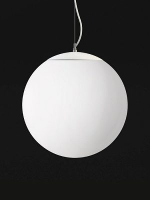 Stilo_ white ball shaped light_krea design_gineico lighting