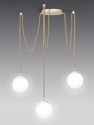 multiple pendant sphere_white milk_black_kreadsign_gineico lighting