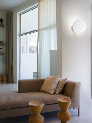 glu matt white_wall light_fabbian_gineico lighting