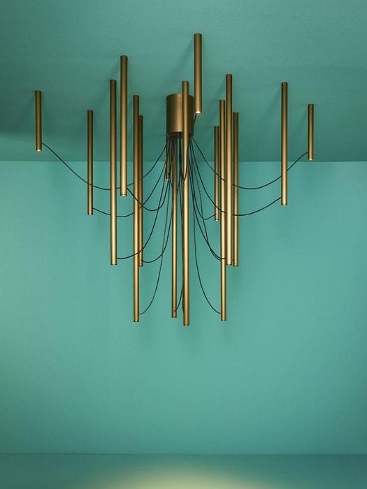 Ari bronze_16 arm_fabbian_gineico lighting