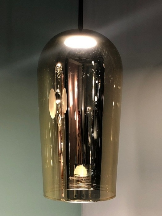 Au_metallic handblown glass table lamp_melogranoblu_gineico lighting