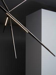 Spear pendant_black nickel_venicem_gineico lighting