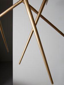 Spear pendant light burnished brass_venicem_gineico lighting