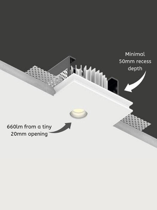 Genius - Gineico Lighting | Clever design, Colored ceiling