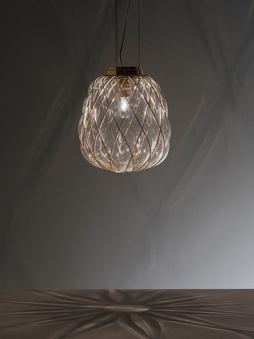 Gineico Lighting - Fontana Arte - Pinecone Pendant 6