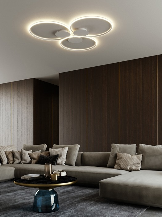 Gineico Lighting - Fabbian - Olympic High Power Ceiling Mounted 1