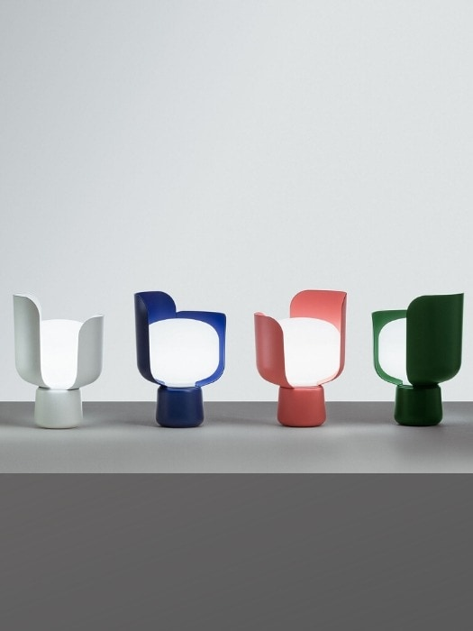 blom table lamp - multi colours - fontana arte - gineico lighting