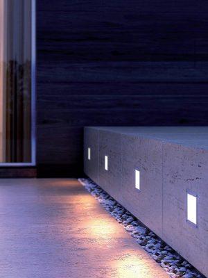 Aladin exterior wall light - Buzzi - Gineico Lighting