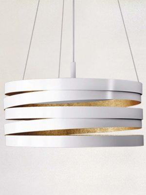 bands suspension light - marchetti - gineico lighting