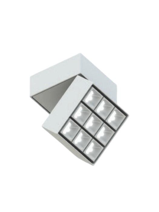 Leva Quadra - Q9 Ceiling Mounted Adjustable - LV316.9.01 - Luciferos - Gineico Lighting