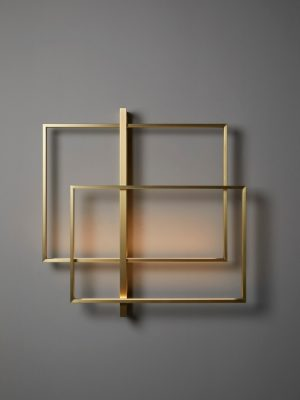 Gineico Lighting - VeniceM - Mondrian LED Wall Double