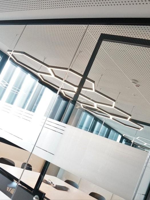 Gineico Lighting - Microfile H Exagonal Pendant
