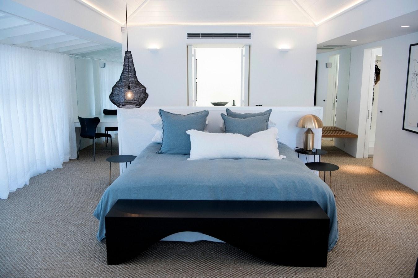 Gineico Lighting - Dukes Workshop - Palm Beach -Master Bedroom