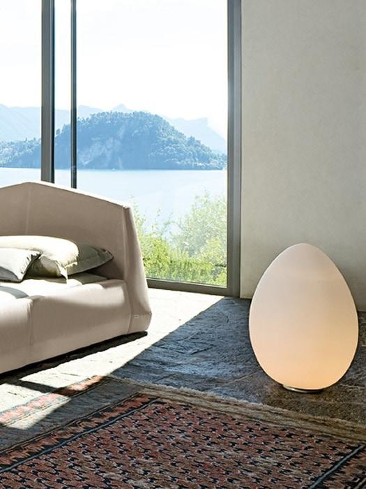 Gineico Lighting - 2021 - FontanaArte - Floor-Table-Uovo-4